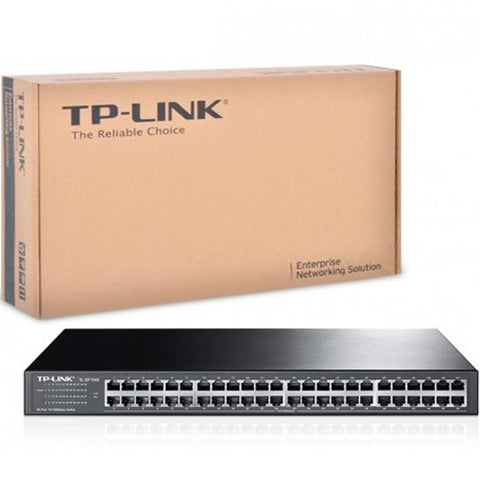 Switch TP-LINK TL-SF1048 48 Puertos Fast Ethernet 10/100 Mbps