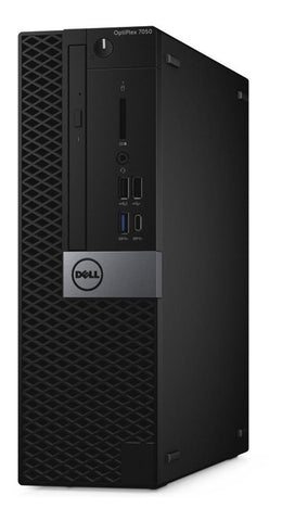 Computadora PC DELL Optiplex 7050 I7 7700 8GB 1TB Negro Win10 Profesional