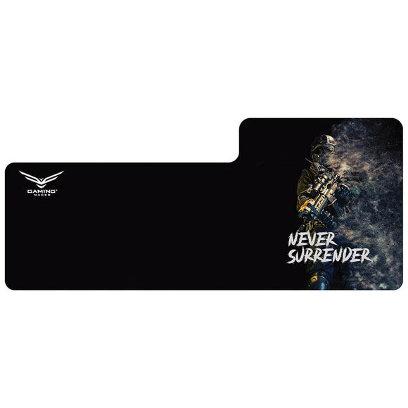 Mousepad Gamer NACEB NEVER SURRENDER XL NA-0943