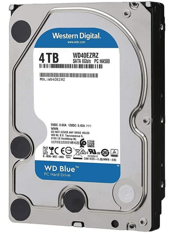 Disco Duro Interno 4TB Western Digital Blue 5400RPM 3.5 SATA III WD40EZRZ