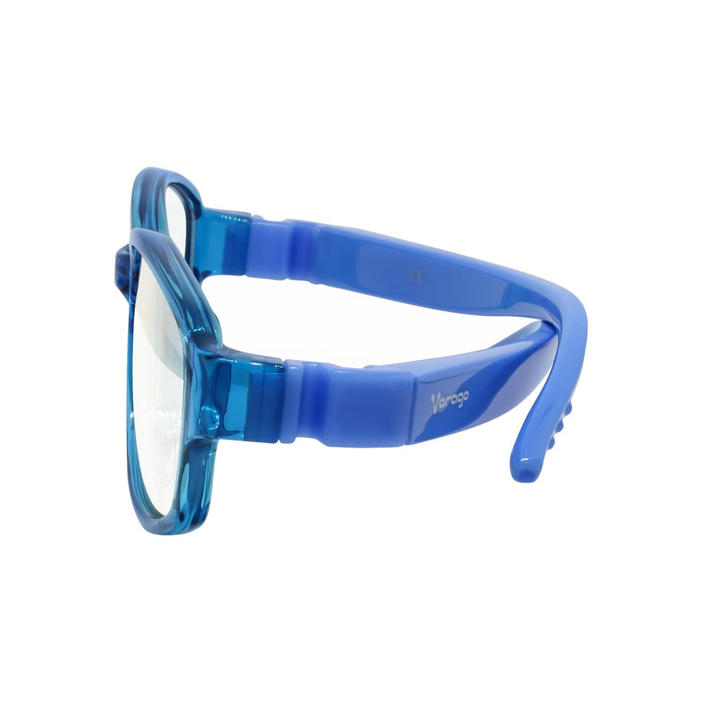 Lentes VORAGO KG200-BL KIDS Anti Blue Light para niños Azul