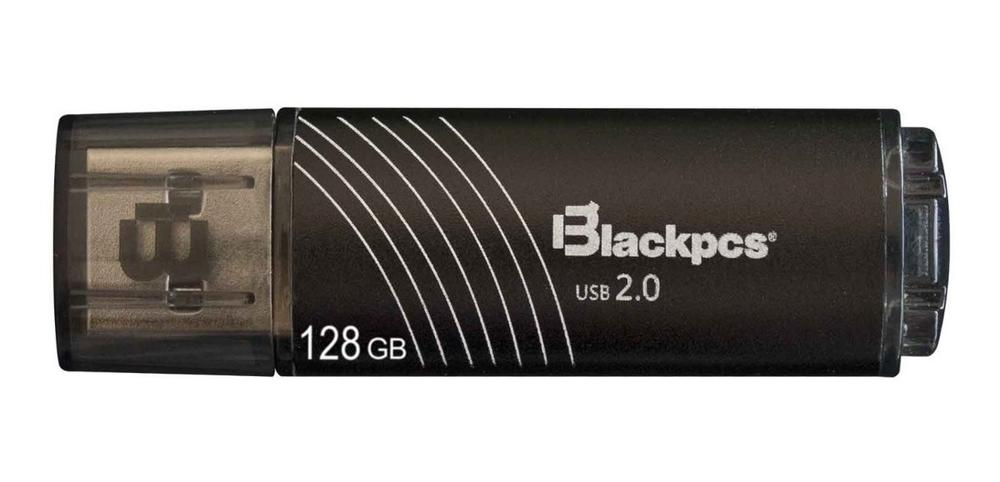 Memoria FLASH USB BLACKPCS 2107 128GB Negro Plastico MU2107BL-128