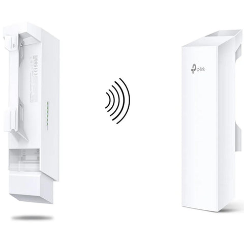 Kit 2 Access Point TP-LINK CPE210 2.4Ghz 9dBi PoE 802.11n Exterior 5Km 300Mbps