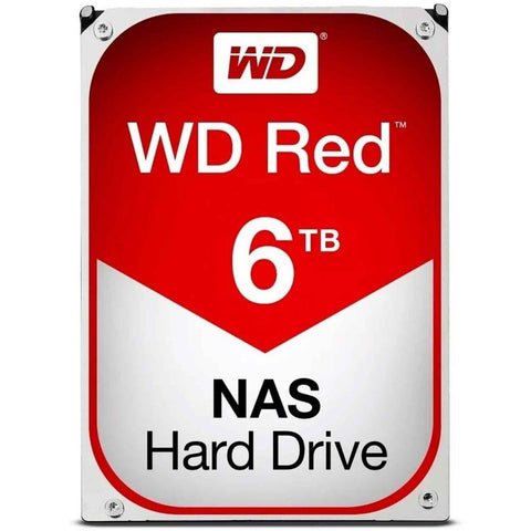 Disco Duro Interno 6TB Western Digital Red NAS SATA III  WD60EFRX