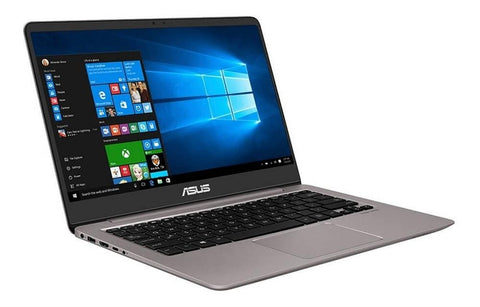 Laptop ASUS Zenbook UX410UA-GV017T I3 7100U 4GB SSD 128GB 14 Win10 6M GTA Reacondicionado