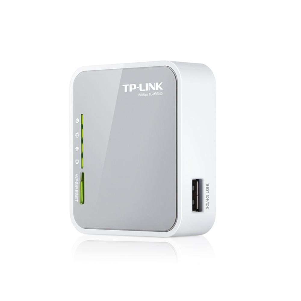 Router Inalambrico TP-LINK TL-MR3020 N150 4G 2.4Ghz 802.11n 150Mbps