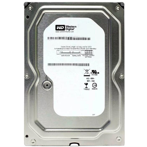 Disco Duro 320GB WESTERN DIGITAL Interno 3.5 SATA Reacondicionado