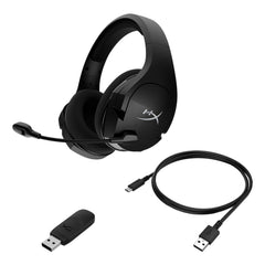 Audifonos Gamer HYPERX Cloud Stinger Core Inalambrico USB Audio 7.1 HHSS1C-BA-BK/G
