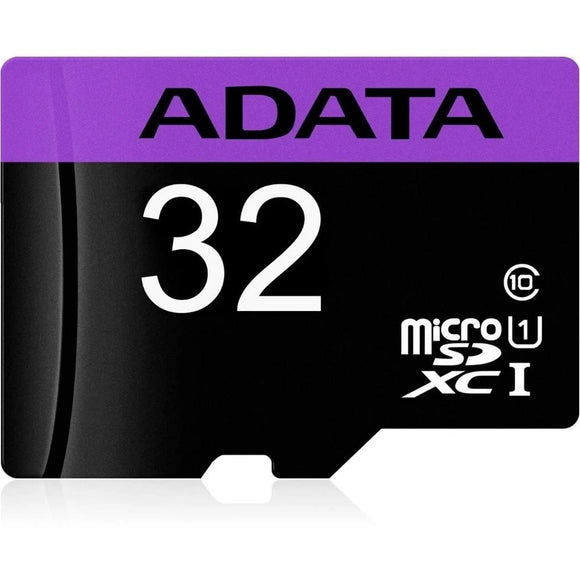 Memoria Micro SD 32GB ADATA Clase 10 Video Full HD AUSDH32GUICL10-RA1