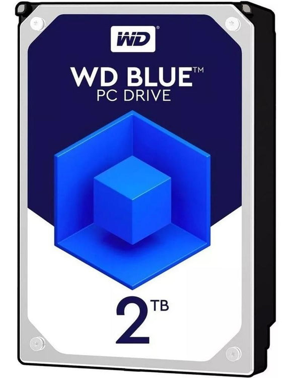 Disco Duro Interno 2TB Western Digital Blue 5400RPM 3.5 SATAIII WD20EZAZ