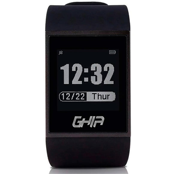 SmartWatch GHIA Touch Bluetooth Android iOS Negro GAC-037
