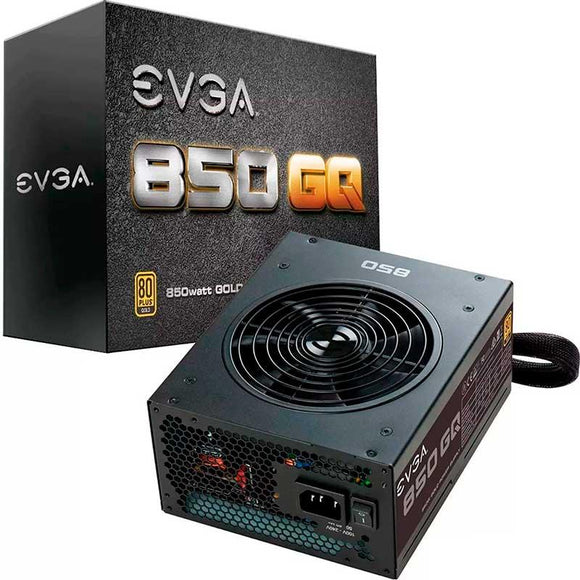 Fuente de Poder PC 850W Gamer EVGA 80 Plus Gold 210-GQ-0850-V1 Semimodular