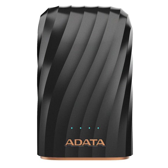 Power Bank 10000MAH ADATA P10050C Bateria Portatil USB-C LED AP10050C-USBC-CBK