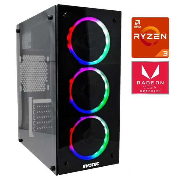 Pc Gamer Xtreme Amd Ryzen 3 3200G Ram 8Gb Disco 1TB Radeon Vega 8