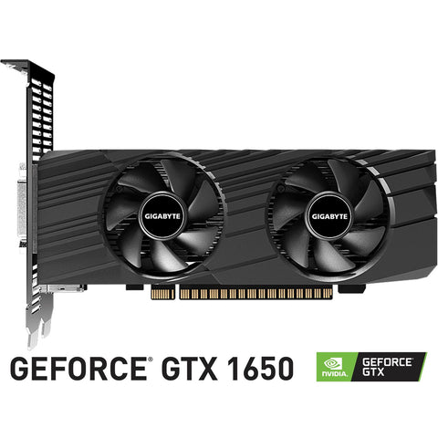 Tarjeta de Video GIGABYTE GeForce GTX 1650 OC Low Profile 4GB GDDR5 GV-N1650OC-4GL