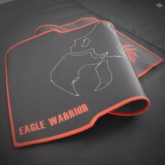Mouse Pad Gamer Eagle Warrior Fighter XL Negro AMOUSEPAD8035EGW