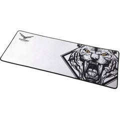 Mousepad Gamer NACEB BACK TO THE WILD XL Blanco NA-0942
