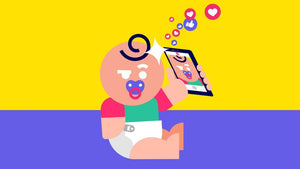 Instagram accounts for babies are becoming more popular. This is what parents should consider