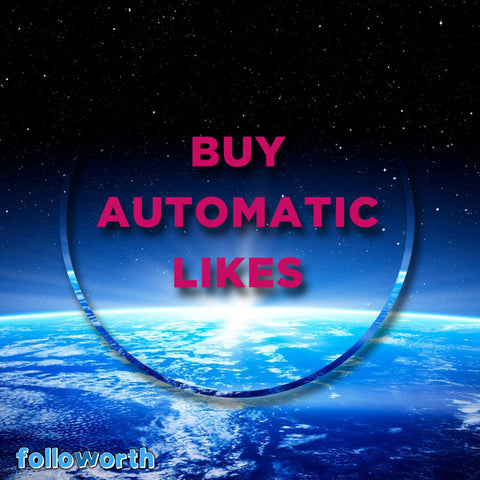 High quality automatic likes for Instragram, Auto likes, Robot likes,