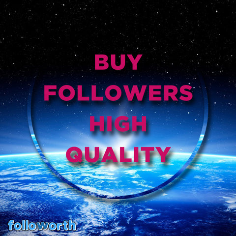 Buy high quality Instagram followers, Real Instagram profiles,