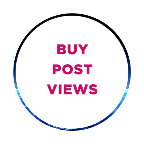 Instagram post views, video views, real views