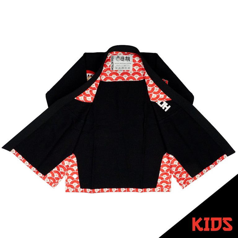 DARUMA KIDS GI - BLACK