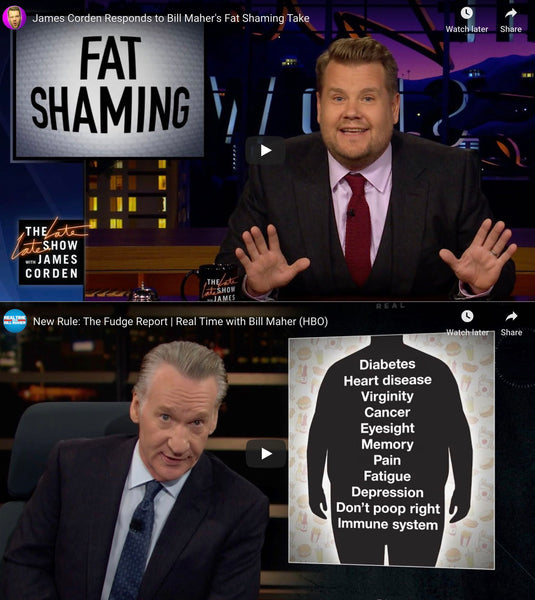 Fat Shaming - 2 Comedians' Take On the Obesity Epidemic