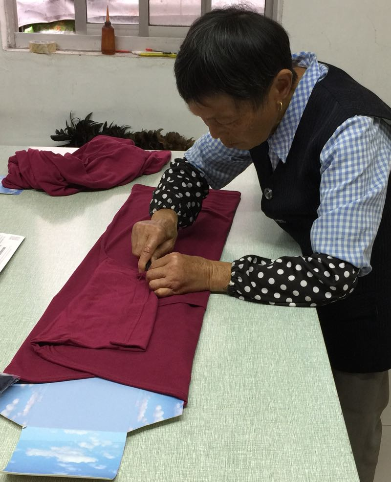Each Big Boy Bamboo t-shirt is carefully pressed and folded by hand.