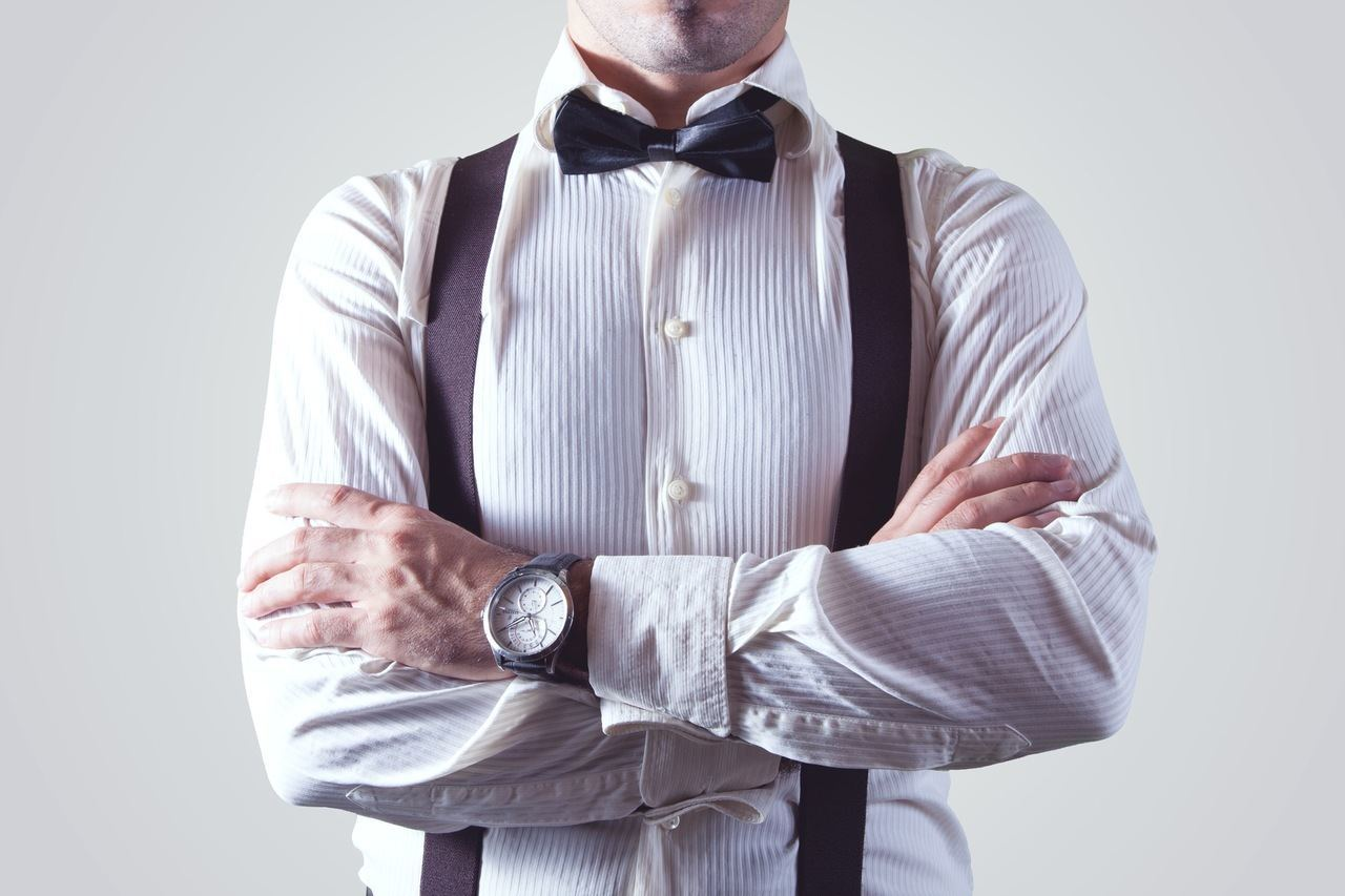 Ditch the belt and get a few stylish pairs of suspenders.