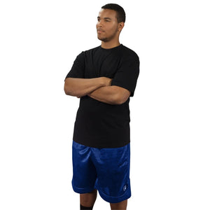 Tall (1XLT-4XLT) Crew Neck T-Shirt for Men - Tall Short Sleeve Bamboo Tee by Big Boy Bamboo