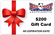 Load image into Gallery viewer, Big Boy Bamboo Gift Card