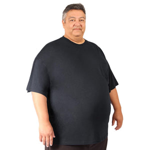 Big Men (3XL-8XL) Crew Neck Bamboo T-Shirt - Short Sleeve Tee by Big Boy Bamboo