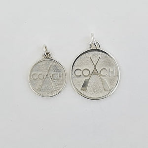 Rowing Sterling Silver Coach Disc (2 Options Available)