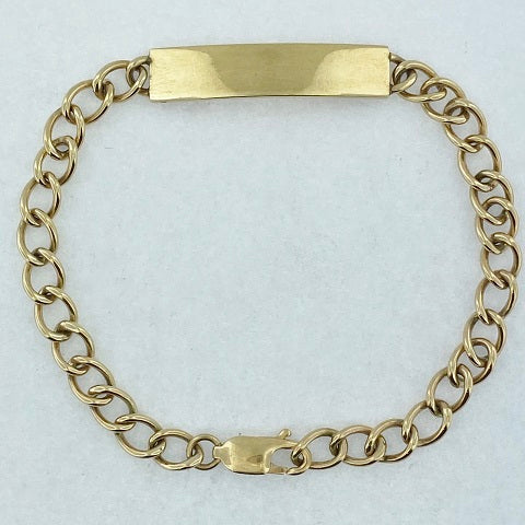 9ct Gold ID Bracelet