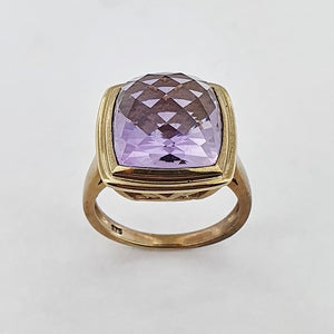 Amethyst 9ct Gold Ring