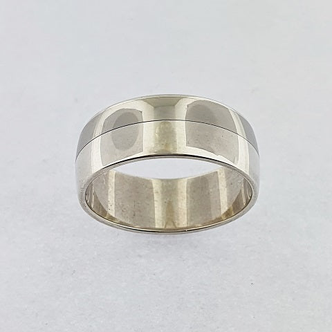Palladium & Sterling Silver Ring