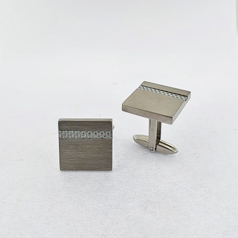 Stainless Steel & Fiberglass Cufflinks