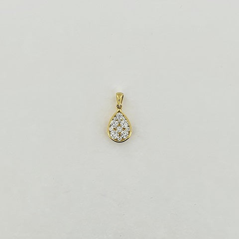 Diamond 18ct Gold Pendant