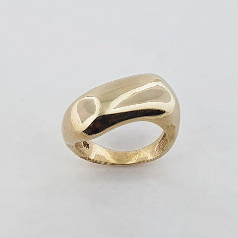9ct Yellow Gold Zigzag Ring