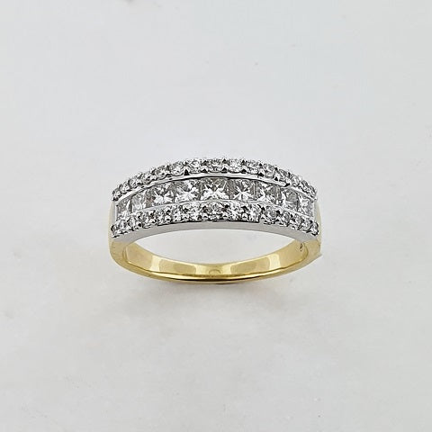 Diamond 18ct Gold Ring