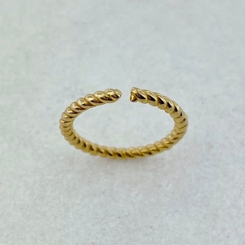 Gold Plated Midi Ring