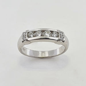Diamond 18ct White Gold Ring