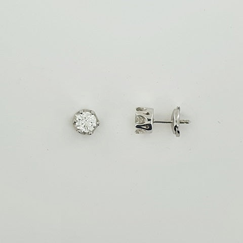 Diamond 18ct White Gold Earrings