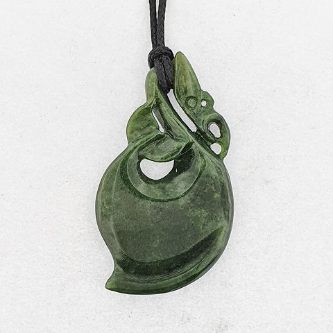 NZ Greenstone Manaia Necklace