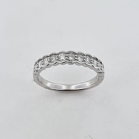 Diamond 14ct White Gold Ring