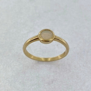 Opal 9ct Yellow Gold Ring