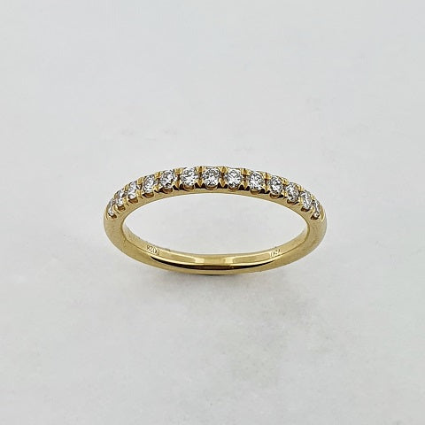 Diamond 18ct Yellow Gold Ring