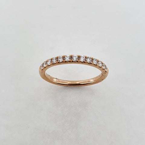 Diamond 18ct Rose Gold Ring