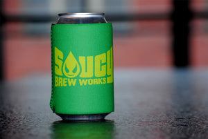 Green Saucy Holiday Koozie
