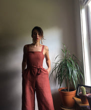 Load image into Gallery viewer, Sleeveless Linen Jumpsuit